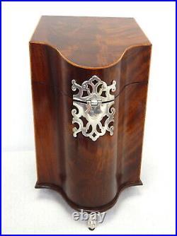 Southampton Georgian Fine Mahogany Wood Knife Kitchen Utensil Storage Case Box