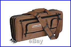 The Ultimate Edge 2001-Edch Deluxe Chef Knife Case Chocolate Knife Storage Items