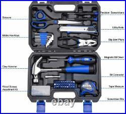 Tool Set Kit Repair General Household Storage Case Solid Box Comfortable Safe