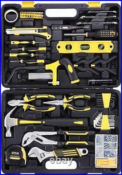 Tool Set Kit Repair General Household Toolbox Storage Case Solid Comfortable Pro