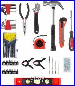 Tool Set Repair Kit General Household Toolbox Storage Case Comfortable Durable