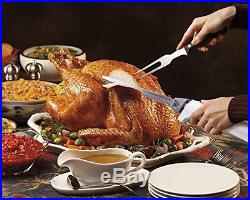 Turkey Carving Electric Knife Thanksgiving Hamilton with Storage Case White