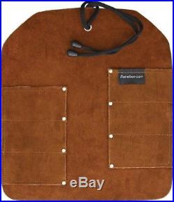 UJ Ramelson 6 Pocket Leather Folding Knife or Tool Roll Storage Case Holder