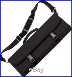 VICTORINOX Knives/Knife Culinary Tri-Fold Storage Case Black Polyester