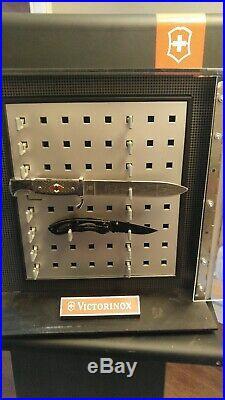 VICTORINOX Swiss Army Knife ROTATING & LOCKING STORE DISPLAY CASE, 21 Tall