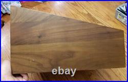 VTG Boker Baumwerk Solingen Tree Brand Knife Store Display Case Wood Plexiglass