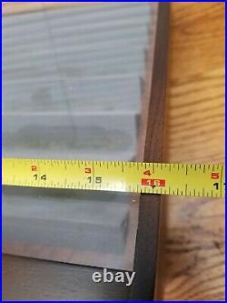 VTG Tree Brand Boker Baumwerk Solingen Knife Store Countertop Display Case NICE