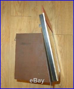 Vintage 1960's New Britain Blackhawk Hand Tools Pocket Knives Store Display Case