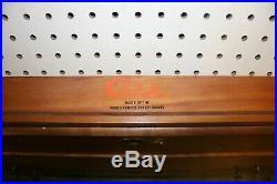 Vintage 1970's CASE XX CUTLERY Knife Store Floor Wooden Display Case 4 Drawer