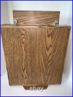 Vintage 1970s Era Wood Buck Knives Knife Advertising Store Display Case HTF