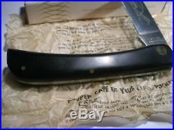 Vintage 1976 Case XX USA 2138lss Sod Buster Knife Nib Old Store Stock