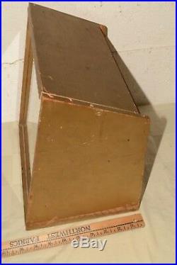 Vintage 70s Imperial Jack Master Pocket Knife Glass Front Store Display Case