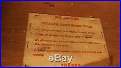 Vintage American Knife Co. Pocketknife Store Display Case
