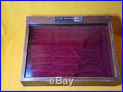 Vintage Buck Knives Store Counter Top 12 Knife Display Case