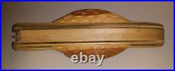 Vintage CASE Oversized 19 Wooden Hand-Carved Folk Art Knife Store Display RARE