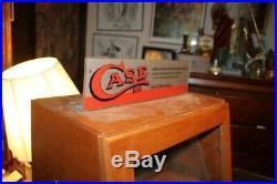 Vintage CASE XX Cutlery Dealer Store Countertop Pocket Knife Display Case No Key