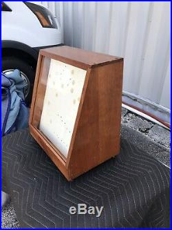 Vintage CASE XX Knife General Store Counter Display Case (Locking-With Key)