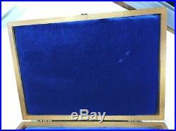 Vintage Case XX Knife Box Presentation / Display / Storage Wooden Unused