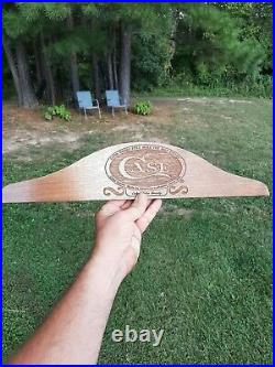 Vintage Case XX Knives Display Header /Store Display Plaque from estate