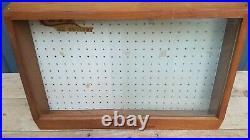 Vintage Case XX Pocket Knife Store Display Case Shadow Box