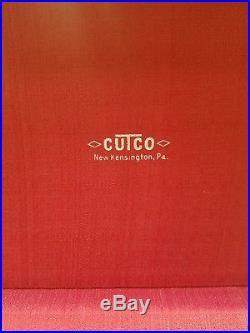 Vintage Cutco #59 Steak Knife Set 8 Pieces in Wood Storage Case
