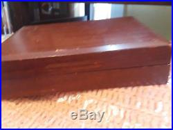 Vintage Cutco #59 Steak Knife set. 8 pieces in Wooden Storage Case
