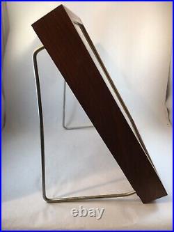 Vintage GERBER Brand Knive Wooden Display Case Countertop Knife Storage Wood