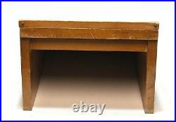 Vintage Hibbard General Store Counter Top Display Case Straight Razor, Knife, Tool