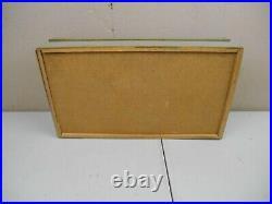 Vintage Kutmaster Pocket Knives Wood Countertop Store Display Case
