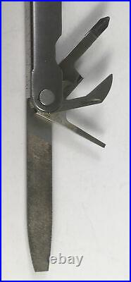 Vintage Leatherman Multi-tool in Orig. Leather Storage Case, Pliers, Knife, Etc