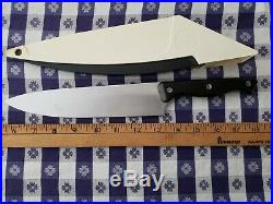 Vintage Lot of 5 Pampered Chef Self-Sharpening Knives in Storage Cases