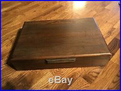 Vintage Prestige 72pcs Silverware Set Without Wooden Or Knives Storage Case