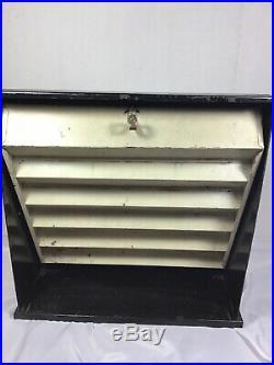Vintage Store Display Counter Top Display Case Jack Knifes Matchbox Cars