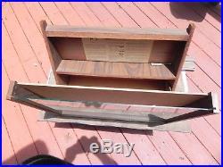 Vintage Wooden Camillus Pocket Folding Knife Display & Storage Case Knives Knife