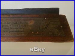 W R Case And Sons Cutlery Knives Store Display Sharpening Stone Vintage Rare