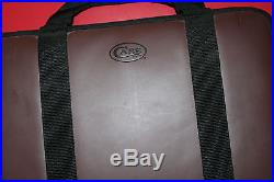 W. R. Case Medium Leather Storage Case with Case Logo. Holds 44 Knives
