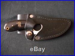 WHITEKNUCKLER FIXED BLADE KNIFE USA Leather case, storage bag