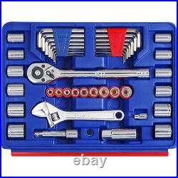 WORKPRO 125-Piece Auto Household Tool Kit Home Repair Tool Set With Storage Case
