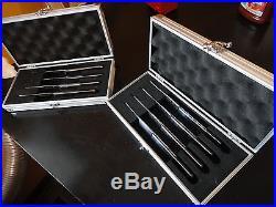 Wusthof 8pc Steak Knife Set & Aluminum Storage Case Prec High German quality