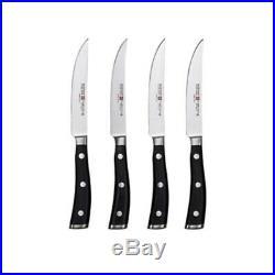 Wusthof Classic Ikon Steak Knife Set/Set of 4/Walnut Storage Case New in Box
