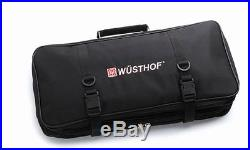 Wusthof Culinary school Knife bag Storage Bag Case Chef Carrying Protector Roll