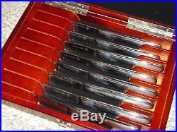 Wusthof Trident Gourmet 8-Piece Steak Knife Set In Presentation Storage Case
