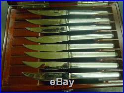 Wusthof Trident Gourmet 8-Piece Steak Knife Set In Presentation Storage Case T2