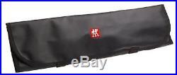ZWILLING J. A HENCKELS 7-pocket Knife Roll Storage Case Chef Carrying Travel Bag
