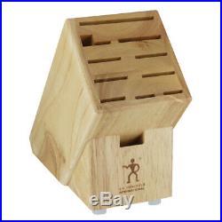 Zwilling Henckels Wood Knife Storage Block Case Pack of 8